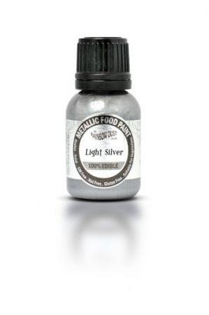Tekutá metalická barva Light Silver 25ml