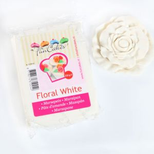 FunCakes MARCIPÁN Floral White 250g